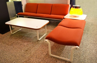 Knoll 70's lounge – design Bruce Hannah and Andrew Morrison