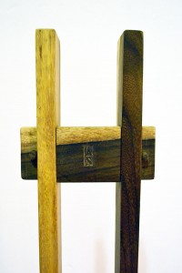 Sedie scultura-design contemporaneo-Spazzapan-anni '90-legno-contemporary design-chairs sculpture-wood