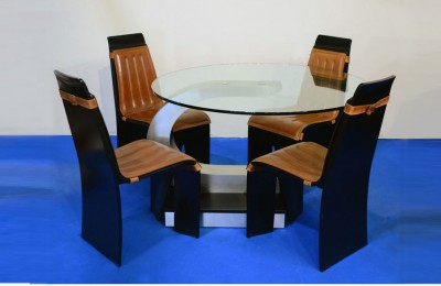 Willy Rizzo Sabot 70s table and chairs