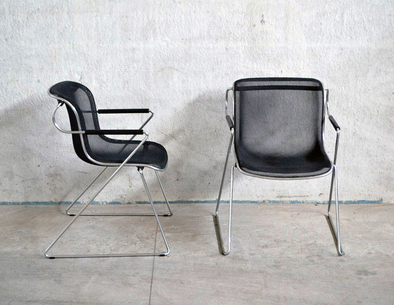 Charles pollock 39 penelope 39 chairs anonima castelli 80s for 80s chair design
