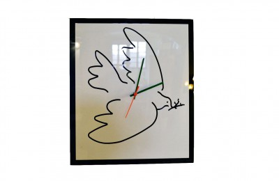 Cleto Munari wall clock hommage to Picasso – limited edition