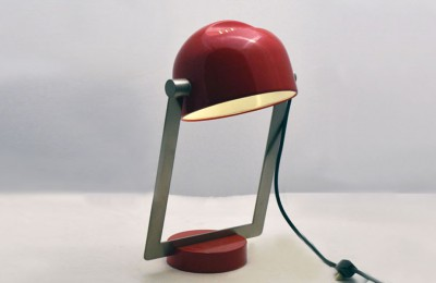 70's table lamp designed in Joe Colombo style