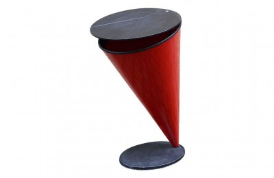 Kartell 80's conical wastepaper