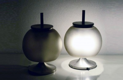 Emma Gismondi Schweinberger pair of 'Chi' table lamps for Artemide