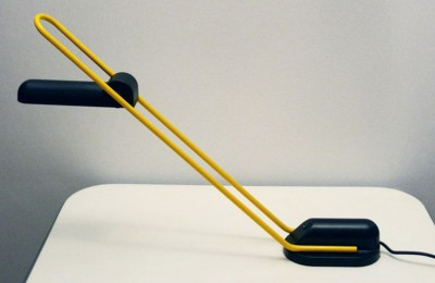 Halogen 80's table lamp design Carlo Vietri for Eleusi