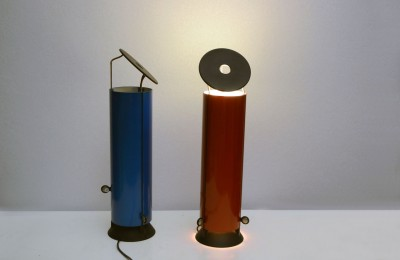 Sirrah pair of 'Sax' table lamps by Paolo Cassai 1975
