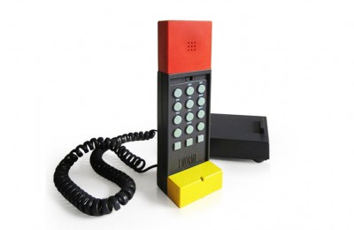 Ettore Sottsass 'Enorme' phone for Brondi 1986