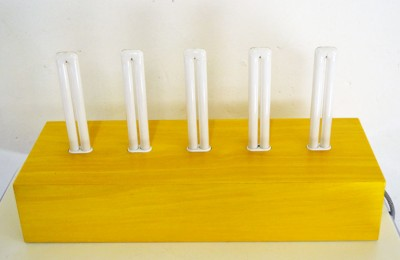Ettore Sottsass for Memphis 'Pattica' lamp Post-Design collection