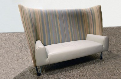 Paolo Deganello for Cassina 'Torso 654' 80's sofa