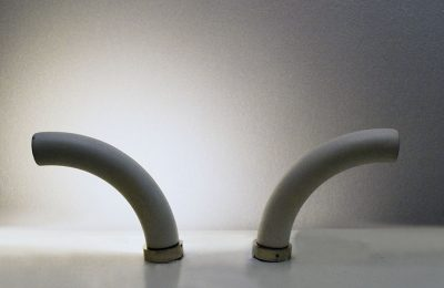 Pair of wall lamps in lacquered metal prod. Lumi Milano 1960s