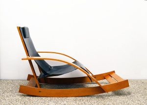 Werter-Toffoloni-Germa-Dondolo-G27-rocking-chair-leather-wood-cuoio-legno-modernariato