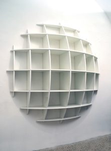 Manfredo-Massironi-Tyco-bookshelf-libreria-Nikol-International-wall-unit-modernariato-design-italian