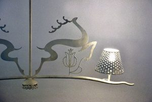 Set-ferro-battuto-anni-'50-wrought-iron-mid-century-furniture-italian-design-modernariato