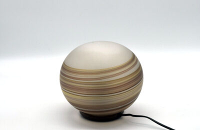 VeArt 'Giove' table lamp in blown glass, 1970s