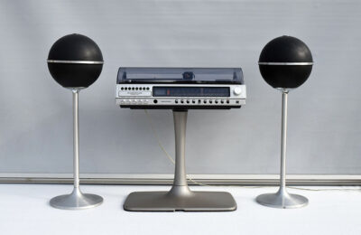 Grundig stereo studio RPC 200 Super HI FI  with foot and Audiorama 4000 loudspeakers, 1970s