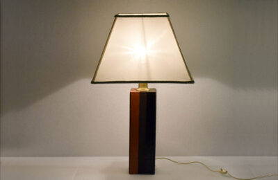 Ceramic table lamp by Raymor Bitossi 1960s